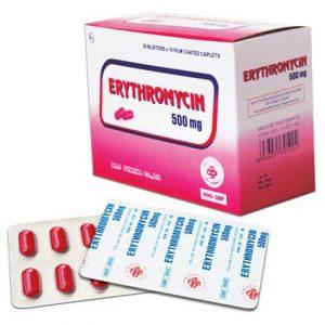 عوارض اریترومایسین