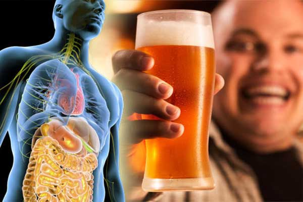 تاثیرات الکل روی کبد
